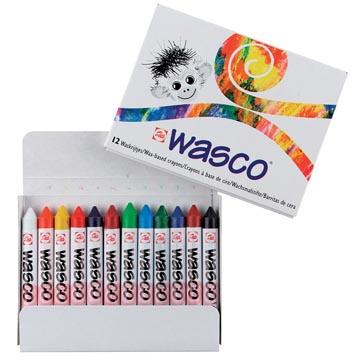 Talens waskrijt Wasco, doos met 12 stuks