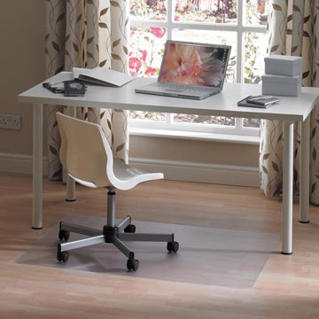 Floortex vloermat, voor tapijt en harde ondergronden, ft 120 x 75 cm
