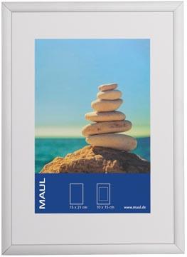 Maul aluminium fotolijst, ft 15 x 21 cm