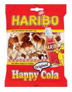 Haribo snoep happy cola, zak van 200 g