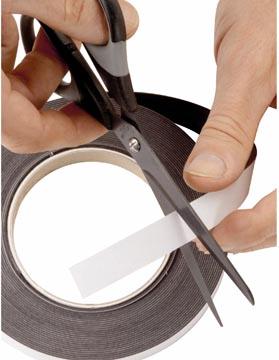 Maul zelfklevende magneetband 10 m x 1 cm