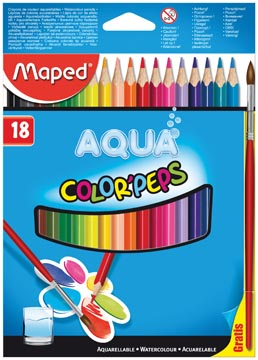 Maped Aquarelpotlood Color'Peps Aqua 18 potloden