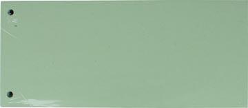Pergamy verdeelstroken, pak van 100 stuks, groen