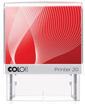 Colop stempel met voucher systeem Printer Printer 20, max. 4 regels, ft 38 x 14 mm
