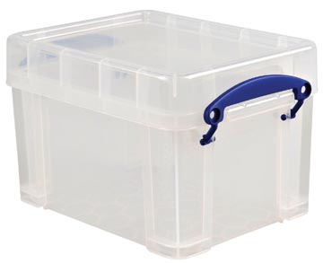 Really Useful Box opbergdoos 3 liter, transparant