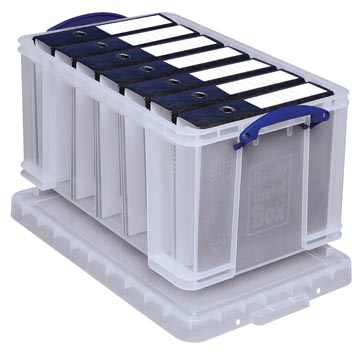 Really Useful Box opbergdoos 48 liter, transparant