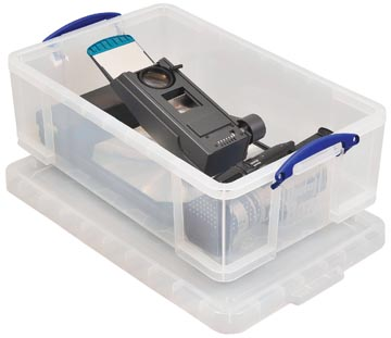 Really Useful Box opbergdoos 50 liter, transparant