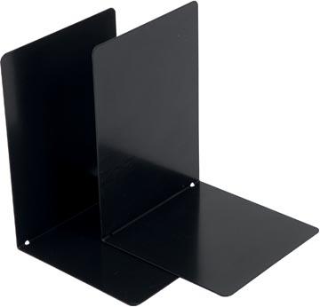 V-Part Boekensteun metaal, set van 2 stuks, zwart