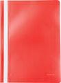 Pergamy snelhechtmap, ft A4, PP, pak van 5 stuks, rood